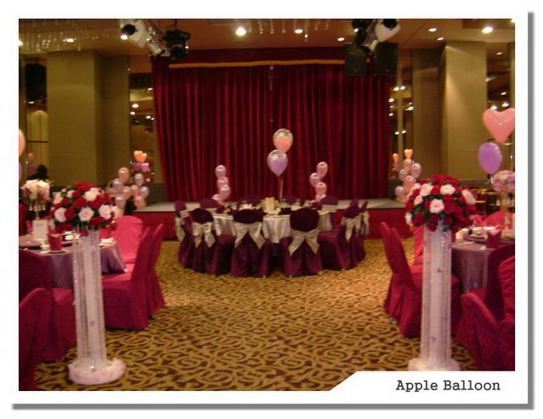 苹果(婚礼布置)会场布置-汐止好料理饭店