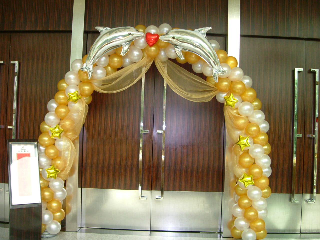 苹果花卉气球(婚礼布置)会场布置-a:拱门